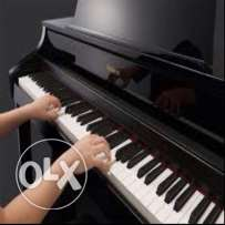 PRIVATE FEMALE PIANO TEACHER in Doha with over than 7 years experience