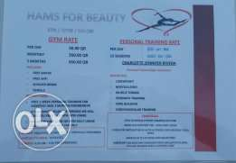 hams for beauty salon spa and gym for women