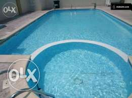 Unfurnished 3-BR Flat in AL Nasr, Gym , QAR.9500