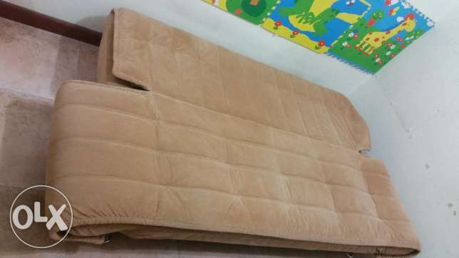 Home Center Sofa Bed 400 (original price 1500 rials) المنصورة -  2