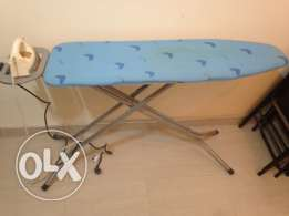 Iron plus ironing board