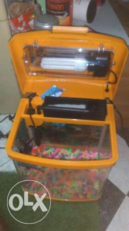 have glass heater(25w), peltar, stroke, tree 2pes,