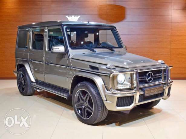 2013 Mercedes Benz G63, GCC Specs, Full History from Gargash