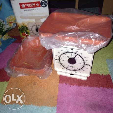 Used Once Small Weighing Scale for Sale for Only 25QR