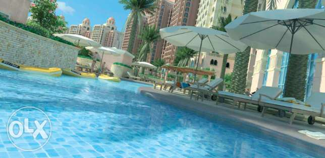 3BR, Semi-furnished Apartment in Viva Bahriya - The Pearl