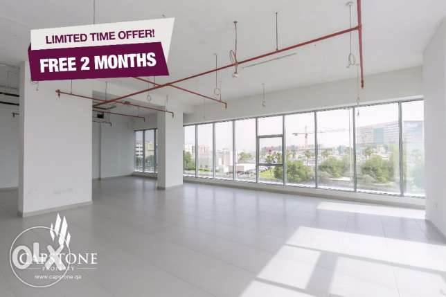 FREE 2 MONTHS RENT, Brand New Office Spaces close to Hamad Hospital