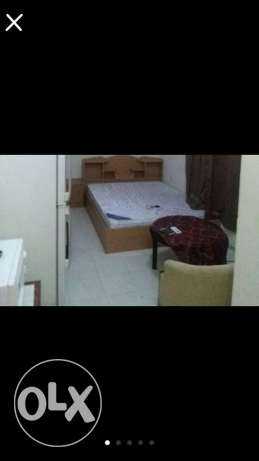 Very good room for ex baclr/small family in luqtha prime location 2300