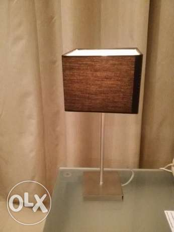 2x Table lamp with touch technology and three degrees setting