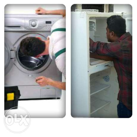 Frige and washing machine repeair