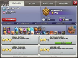 Clash of Clans TH10 account for sale