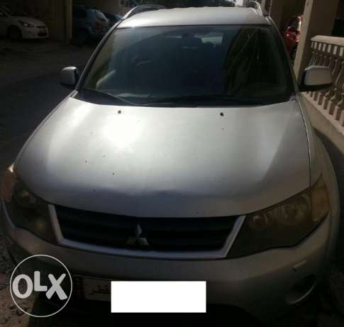 Mitsubishi Outlander 2008 4X4 Family car