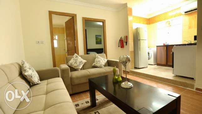 NO COMMISSION - 1 bedroom fully furnished apartment in Wakrah
