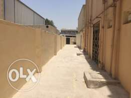 store and 60 rooms in industrial area for rent