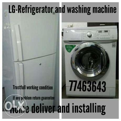 Washing machine refrigerator Home delivery