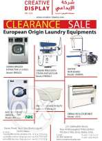 Laundry & Dry Cleaning Equipment Clerance Sale