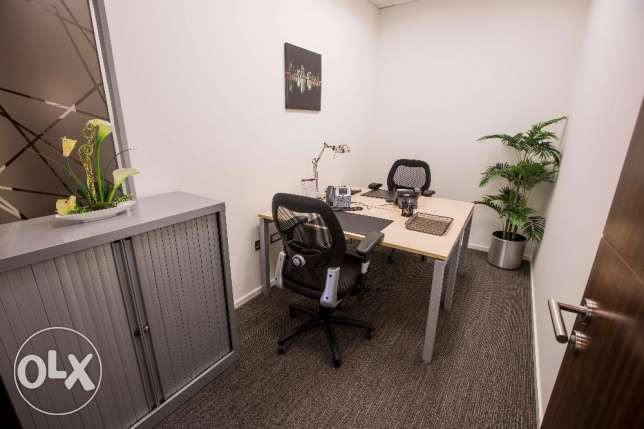 Fully serviced office in Shoumoukh Tower, closed to La Cigale Hotel