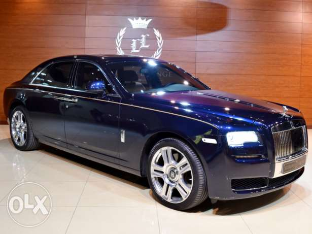 2016 Rolls Royce Ghost ,Warranty and Service Package from Dealer,GCC S