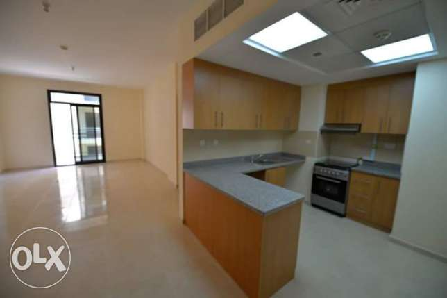 In lusail spacious 1BD apartment with open kitchen &balcony