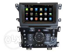 In Dash Radio Ford Edge 2014 Car Dvd Player Android Quad Core Factory