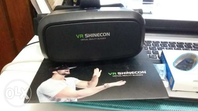 *QR100*VR shinecon 2 with remote الهتمي -  2
