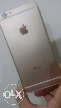 I phone 6 gold 16GB used no scratches w/box & charger for Only 1500QR الوكرة -  2