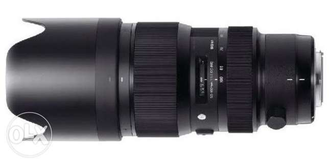 Sigma 50-100mm f1.8 DC HSM Standard Zoom Lens for Nikon