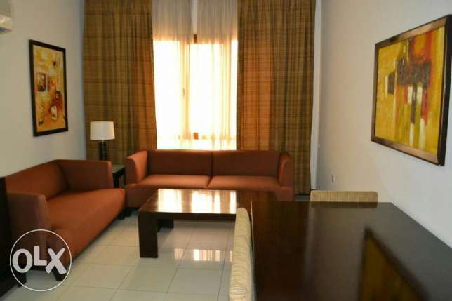 fully furnished 1B/R apartment