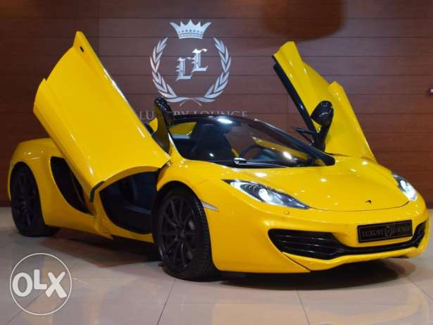2014 McLaren MP4 - 12C Spider , GCC Specs