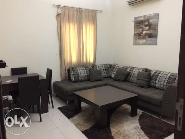 1 BR FF Apartment in garafa with bills