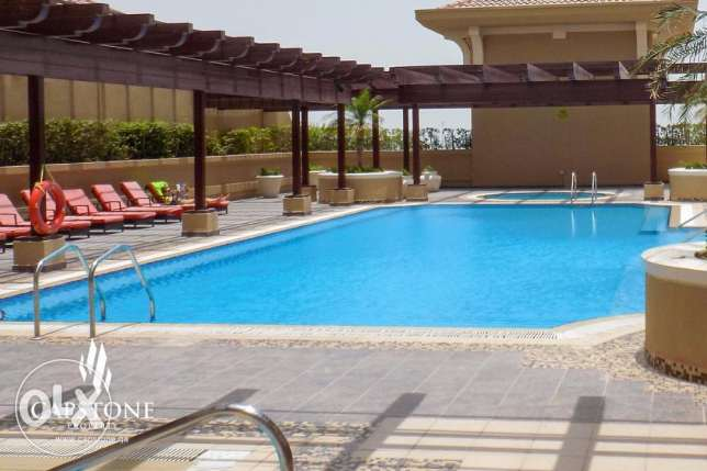 Fully-furnished 1BR Apt. at Porto Arabia (ALL INCLUSIVE)