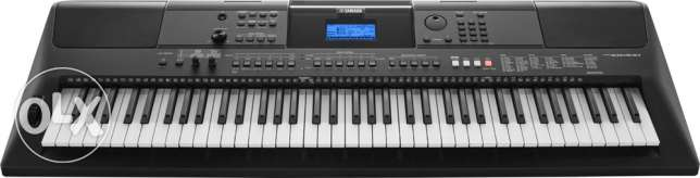 Brand New Yamaha PSR EW400 76-key portable keyboard for Sale