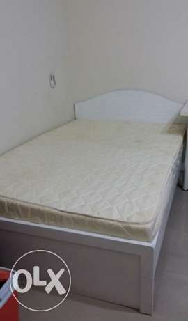 Single bed (120x200) with medical mattress