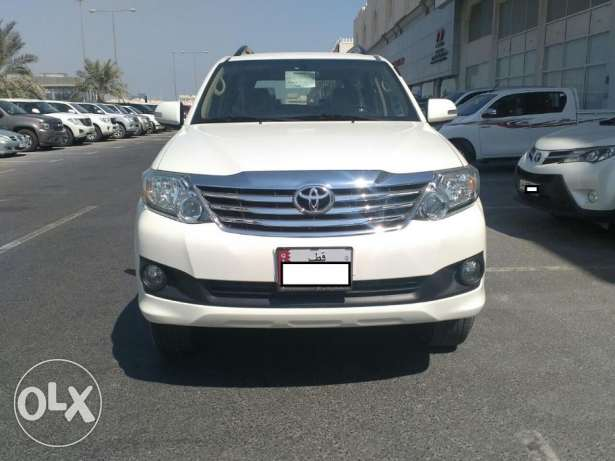 Brand new Toyota - fortuner - 2015 - 6 Cyl الريان -  2