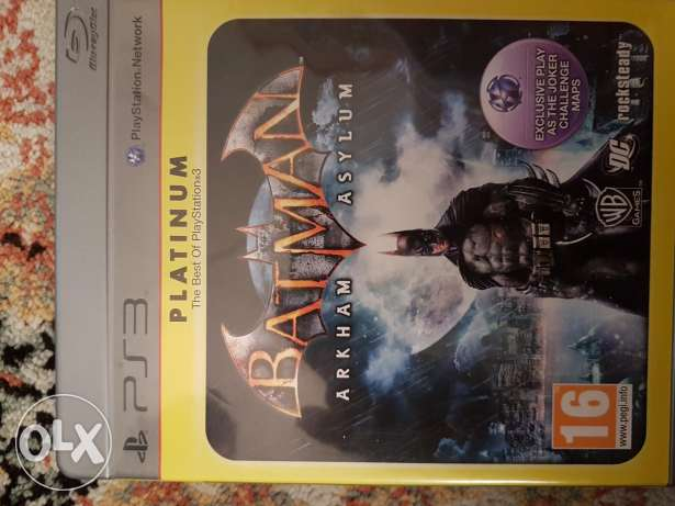Batman game for ps3.
