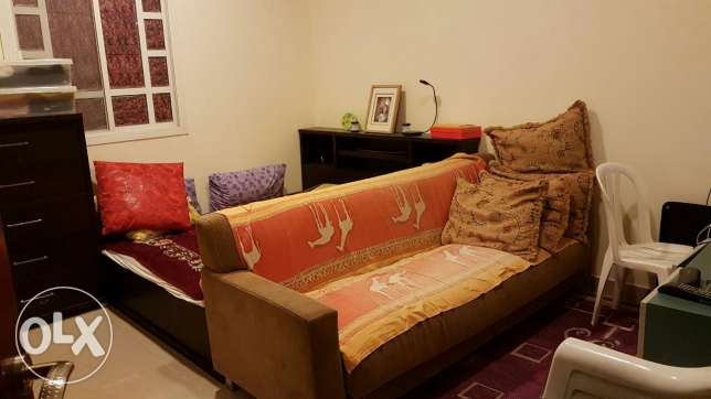 One room with hall, toilet and kitchen including water and electricity in a villa.I bhk