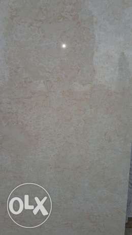 55 SQM used porcelain tiles 80cmx80cm for sale