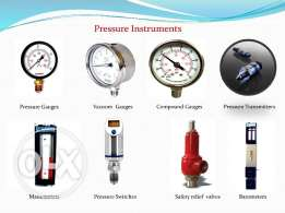 Industrial Instruments Calibration and sales