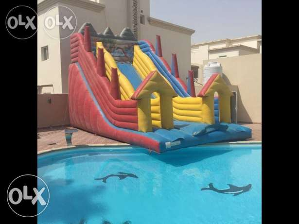 SF 4-BR Villa in Ain Khaled,Basketball,Tennis Court,Pool