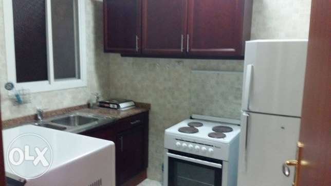 fully furnished 1 bhk flat in al sad included water and electricity السد -  2