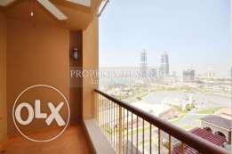 1 Bedroom fully furnished in prime location with Side Marina view