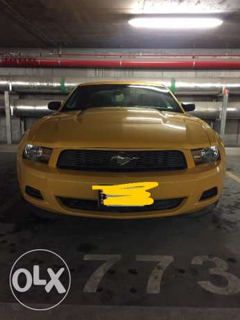 Rare Color - Ford Mustang - 2012 - V6 3.6L