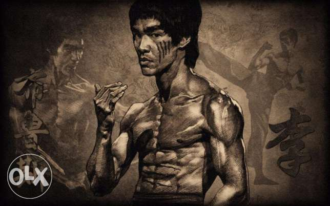 "Bruce Lee ""Legend"" Art Print"