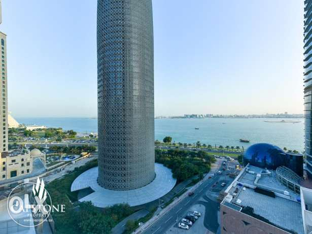 Offce in Palm Tower, West Bay with Panoramic Sea View