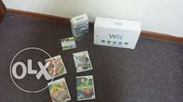 Wii and 6 Games