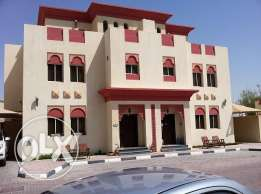 nice 3 bedroom +1 maid room fully furnished compound villa in muraikh