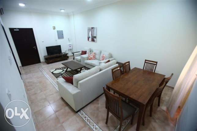 * No Commission - New - Fully Furnished 2 Bedroom Flat In Bin omran