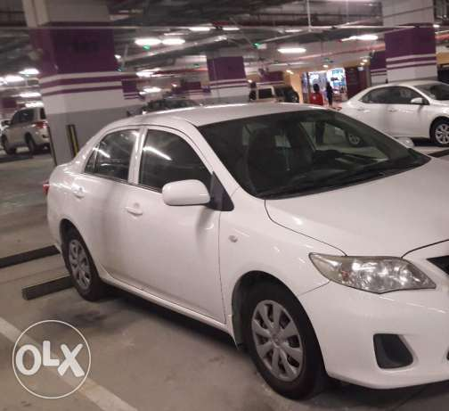 Toyota Corolla 2011 with Special Plate Number 37699