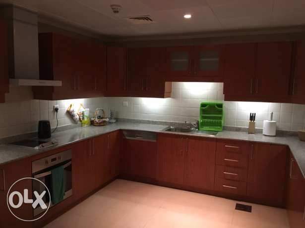 stunning furnished one bedroom in the pearl الؤلؤة -قطر -  2