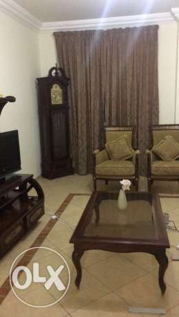 Fully furnished flat 2 bhk in al Sadd