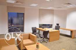 Fully Furnished Office Space for Rent in AL Sadd